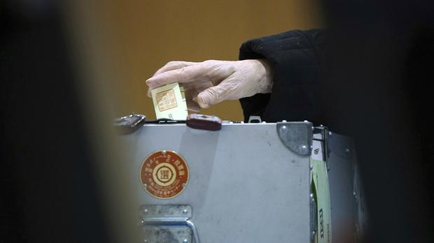Voting has closed in Japan's general election (AP)