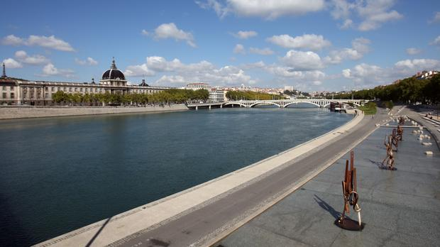 The woman died in the boating accident on the Rhone