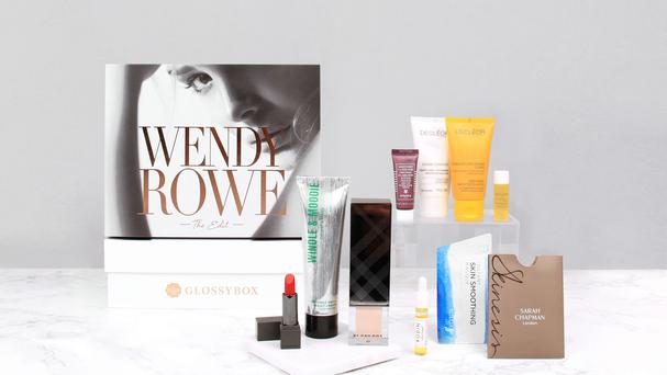 Glossybox and Wendy Rowe The Edit products