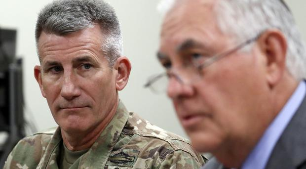 Rex Tillerson makes unannounced side trip to Afghanistan