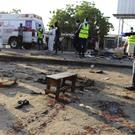 The site of a suicide attack in Maiduguri, Nigeria (AP)