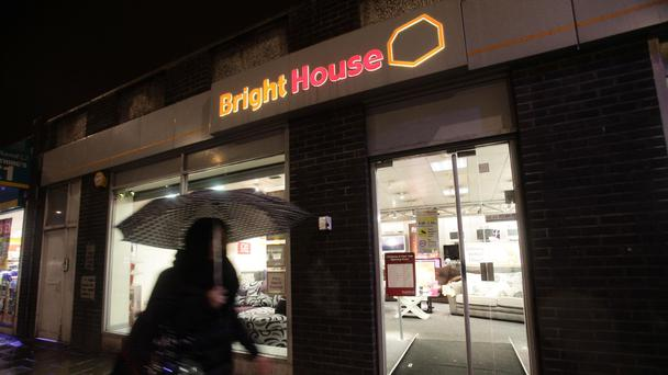A branch of 'rent-to-buy' credit company Brighthouse in Holloway, north London