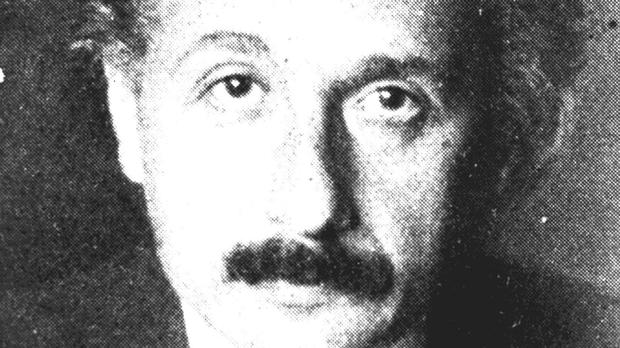 Professor Albert Einstein in 1920