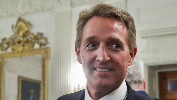 Sen Jeff Flake will not run for re-election. (AP)