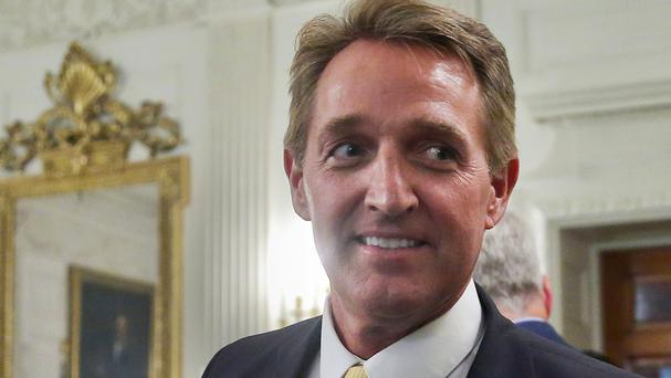 Senator Jeff Flake announced he will not be seeking re-election (AP)