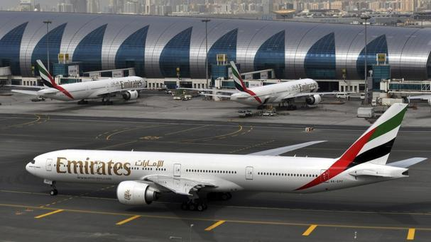 Emirates is one of four airlines starting new screening procedures (AP)