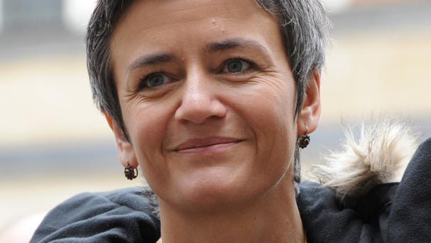 Margrethe Vestager said she wants to make sure the British plan targeting tax avoidance does not allow some multinationals to pay less tax than other companies