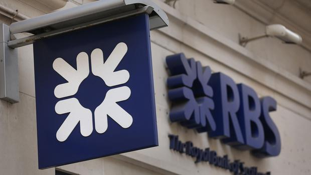 Generic picture of RBS sign (PA)