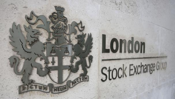 London Stock Exchange sign (PA)