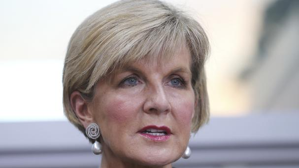 Julie Bishop will stand in as Australia's acting prime minister while Malcolm Turnbull conducts an overseas trip, following the dual citizenship crisis that has sidelined his deputy, Barnaby Joyce. (AP)