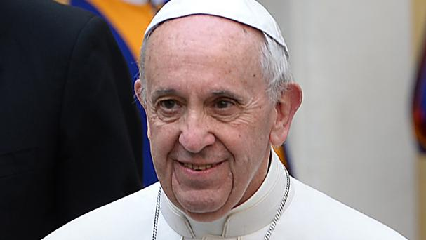 Pope Francis said people rather than institutions should be at the centre of political debate