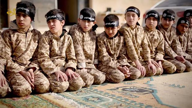 Isil child soldiers