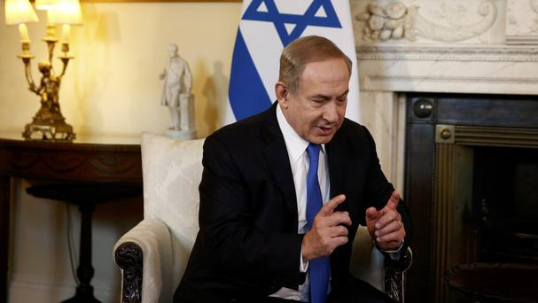 Benjamin Netanyahu says Israel needs to co-ordinate the move with the US