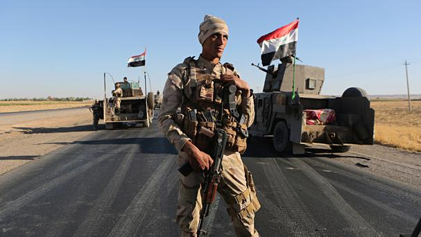 Iraqi security forces (AP)