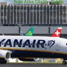 Ryanair aircraft, as the budget airline boosts profits (PA)