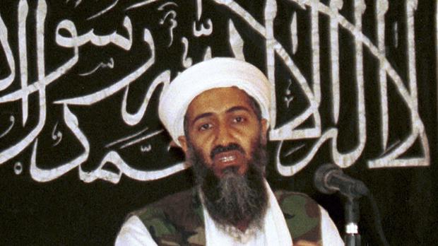 Never-before seen video of Osama bin Laden's son and potential successor was released by the CIA in a trove of material recovered during the May 2011 raid that killed the al Qaida leader at his compound in Pakistan. (AP Photo/Mazhar Ali Khan, File)