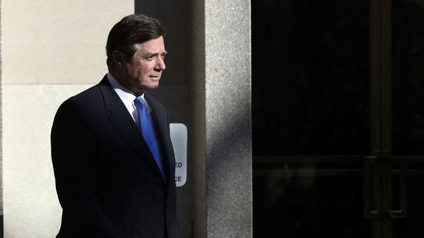 Paul Manafort leaves the Federal District Court in Washington (AP/Alex Brandon)
