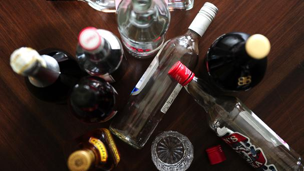 A new memo by Department of Health officials on the changes says the decision to allow alcohol to be displayed will be limited, but will still permit a substantial amount to be on view. Stock image