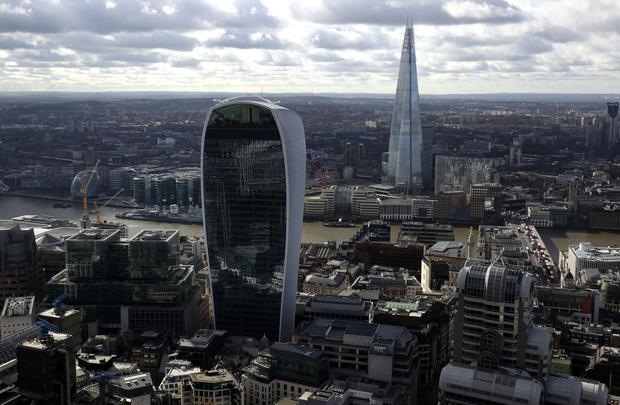 Bloomberg's new headquarters is located in central London