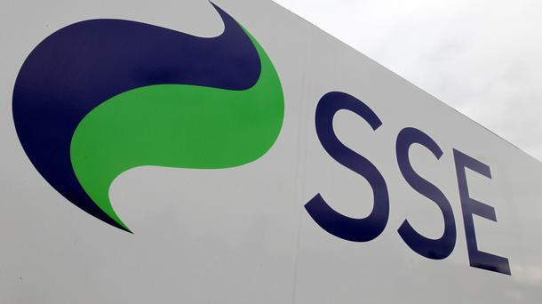 A picture of the SSE logo