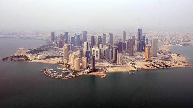 The World Cup takes place in Qatar in 2022