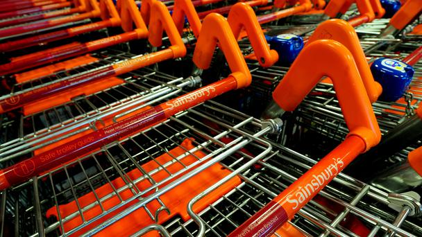 Sainsbury's reported a 9% fall in half-year profits (PA)