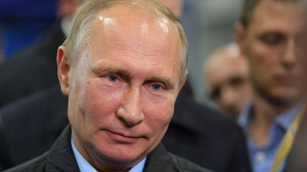 Russian President Vladimir Putin has claimed the US could be meddling in the upcoming election (AP)