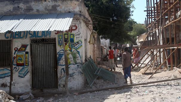 Library picture of Mogadishu