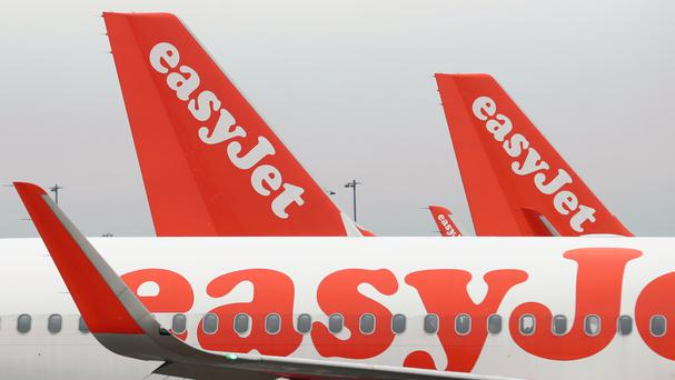 Shares in easyJet were up 0.7pc, or 9p, to 1,279p shortly after the announcement