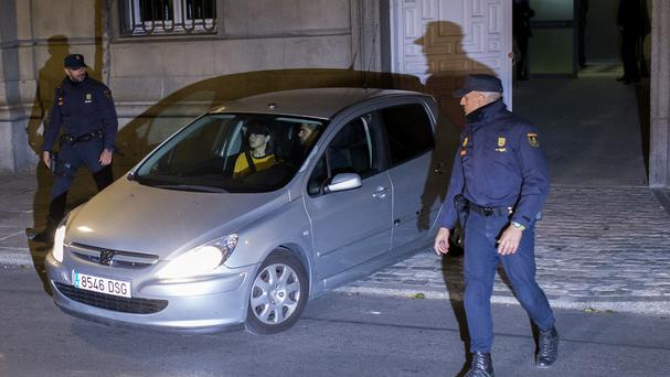 Catalonia parliament speaker Carme Forcadell has been released (AP)