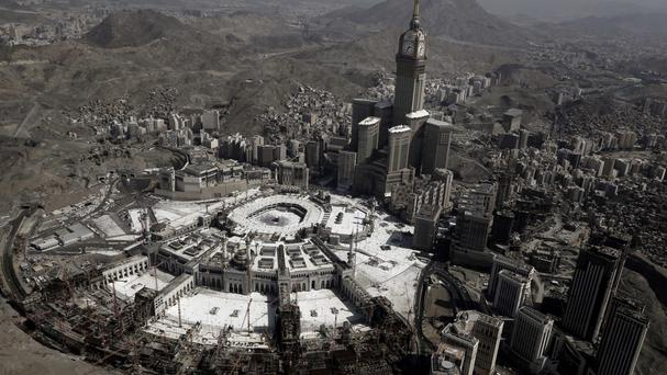 The bin Laden family has been active in construction at Mecca, Islam's holiest site