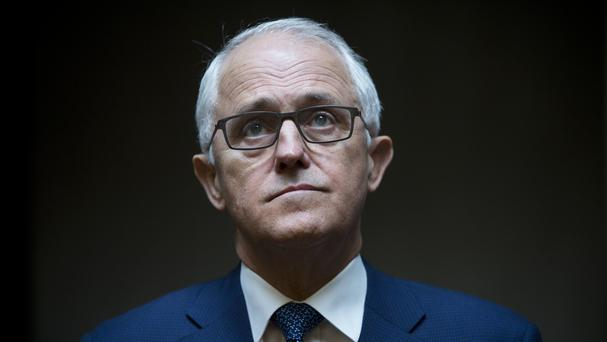 Australian Prime Minister Malcolm Turnbull is arguing for lawmakers to be given longer to determine citizenship (AP Photo/Oded Balilty)