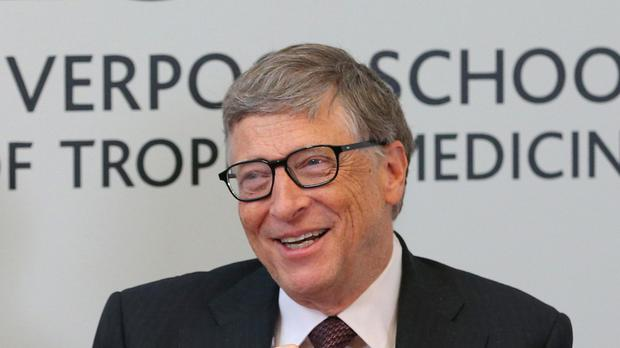 Bill Gates said men in his family have suffered from Alzheimer's