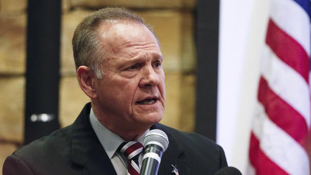 Roy Moore is an outspoken Christian conservative and former state Supreme Court judge (AP)
