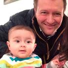 Nazanin Zaghari-Ratcliffe with her husband Richard Ratcliffe and their daughter Gabriella. Photo: Family Handout/PA Wire