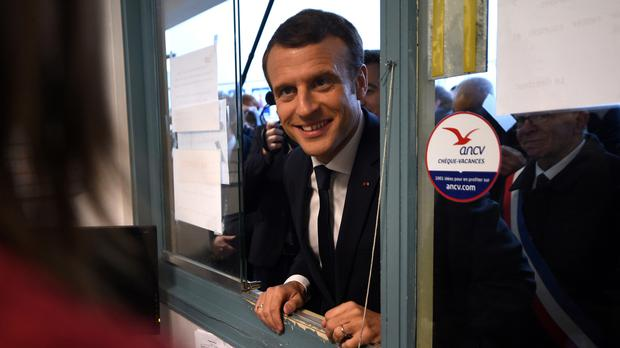 French president Emmanuel Macron said his government will present about 15 measures to fight radicalisation (Francois Lopresti/pool/AP/PA)