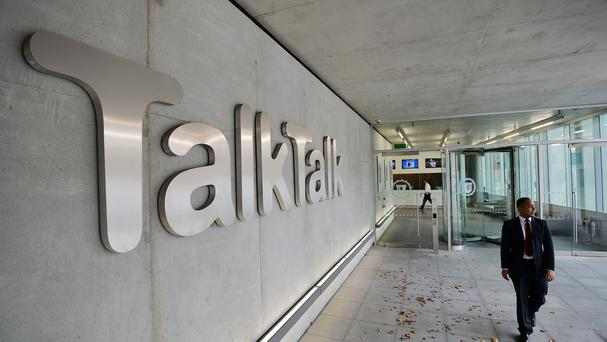 Talk Talk headquarters in west London, as the company reveals its latest results (PA)