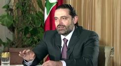 Saad Hariri has not returned to Lebanon since his resignation (Future TV/AP)