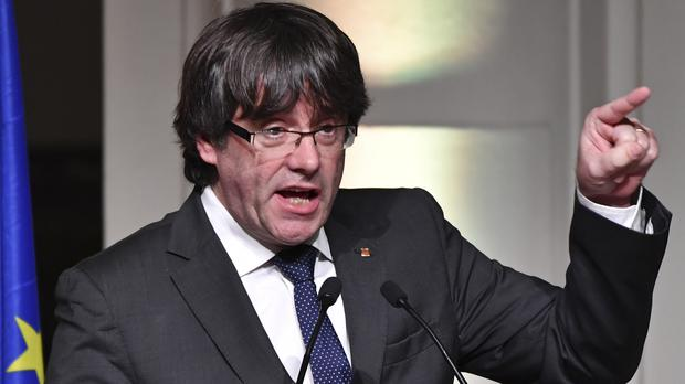 Carles Puigdemont is facing extradition back to Spain from Belgium (Geert Vanden Wijngaert/AP/PA)