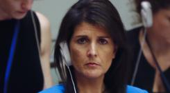 United Nations US ambassador Nikki Haley noted that this was the 10th veto by Russia to support Syria
