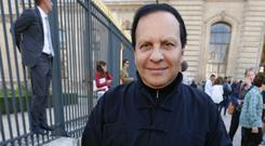 Tunisian-born fashion designer Azzedine Alaia has died aged 77 (AP Photo/Francois Mori, File)