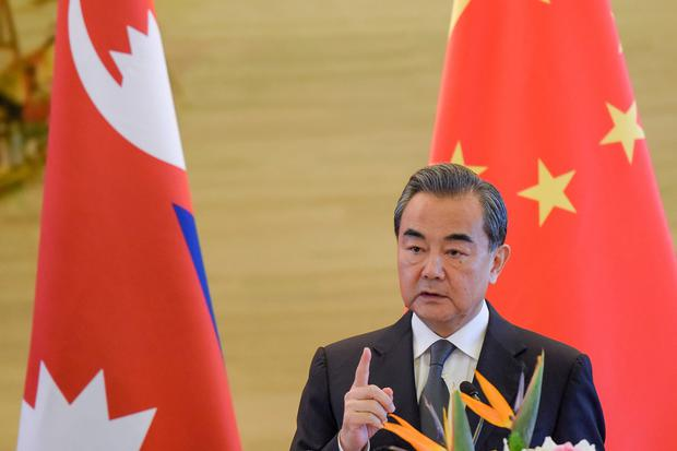 China's foreign minister Wang Yi. Photo: Reuters