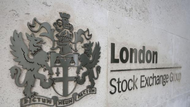 A picture of the London Stock Exchange group sign (PA)