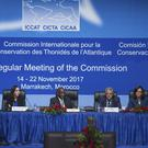 The International Commission for the Conservation of Atlantic Tunas meets in Marrakech, Morocco (Mosa'ab Elshamy/AP)