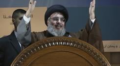 The leader of Lebanon's Hezbollah categorically denied accusations that his group is sending weapons to Yemen (AP Photo/Hussein Malla, File)