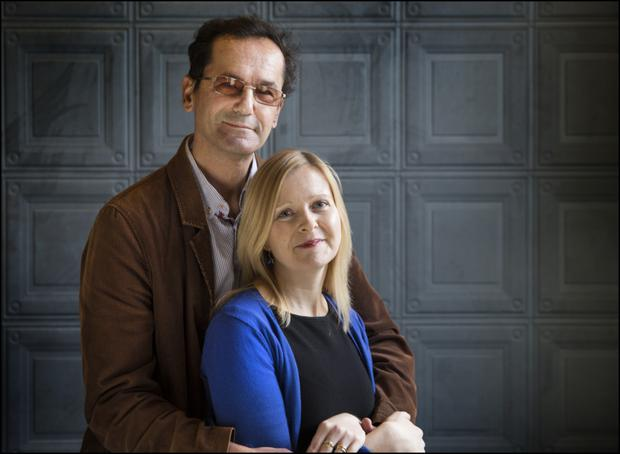 ORDEAL: Mirza and Bronagh met after he left Sarajevo Photo: David Conachy