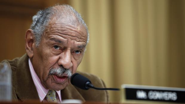 John Conyers is stepping down from his role on the House Judiciary Committee (AP Photo/Alex Brandon, File)