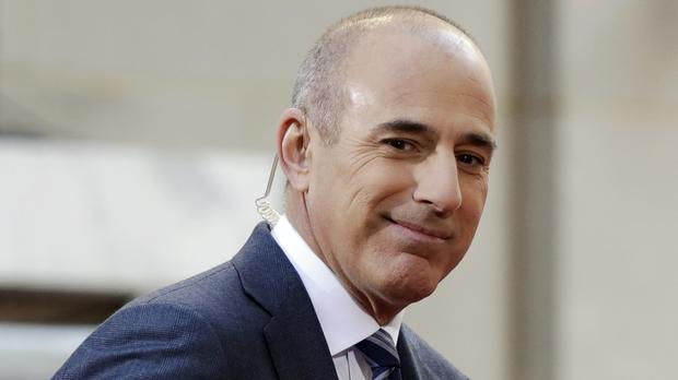 NBC has fired Matt Lauer from its popular morning show Today (Richard Drew/AP/PA)