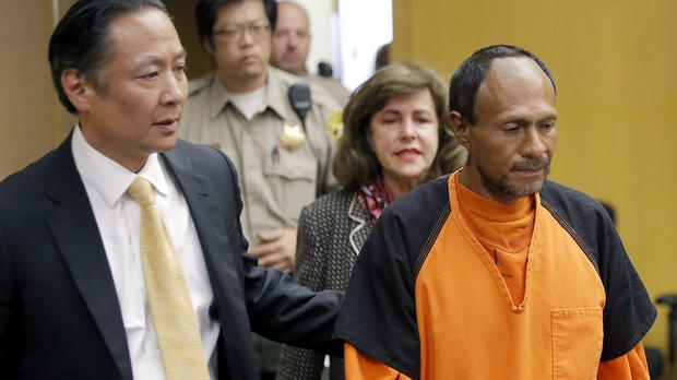 Jose Ines Garcia Zarate has been cleared of his part in the death of Kate Steinle. (Michael Macor/San Francisco Chronicle via AP, Pool, File)