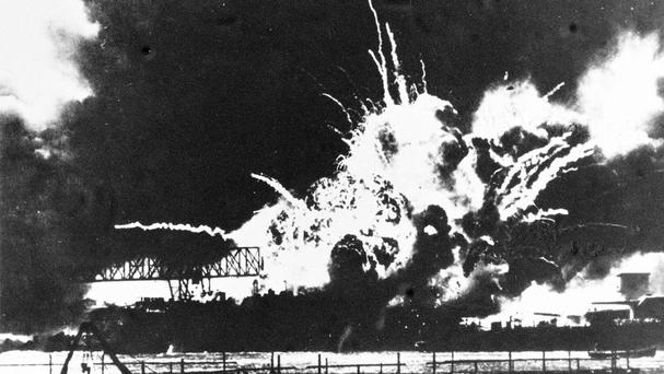 Japan launched an attack on the US fleet at Pearl Harbour in 1941